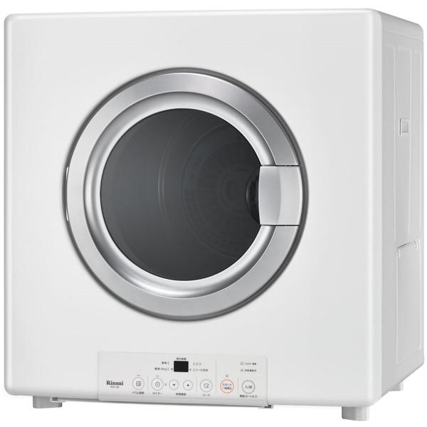 Rinnai RDT-80-13A ピュアホワイト 乾太くん [ガス衣類乾燥機(乾燥容量8.0kg/都市ガス・13A)]