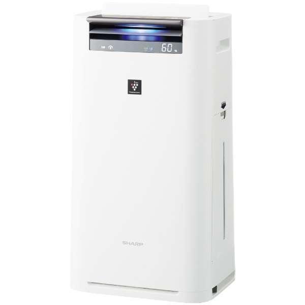 【送料無料】SHARP KI-JS50-W ホワイト系 [空気清浄機 (空気清浄~23畳/加湿~15畳)]