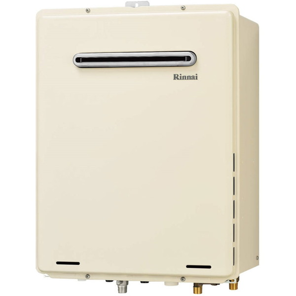 Rinnai RUF-A1605AW(B)-LP [ガスふろ給湯器 (プロパンガス用・16号・屋外壁掛/PS標準設置 フルオート)]