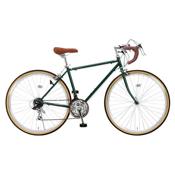 【送料無料】Raychell RD-7021R アイビーグリーン [ロードバイク(700×28C・21段変速)]【同梱配送不可】【代引き・後払い決済不可】【沖縄・北海道・離島配送不可】自転車 スポーツバイク 初心者 通勤 通学 学生 シマノ ギア