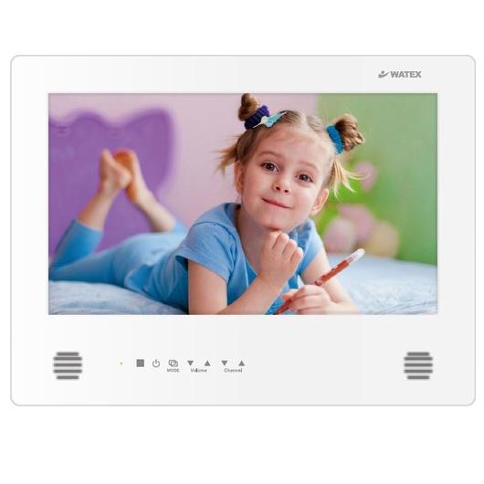watex WMA-160-F(W) パールホワイト [浴室テレビ (16V型・地上デジタル)] 浴室専用 防水 防水テレビ TV タッチパネル 地上デジタルチューナー内蔵