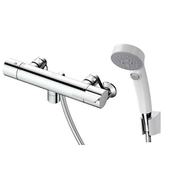 TOTO TBV03410J GGシリーズ(浴室用水栓金具) [サーモスタット混合水栓 (コンフォートウエーブクリック・スパウト0mm)]