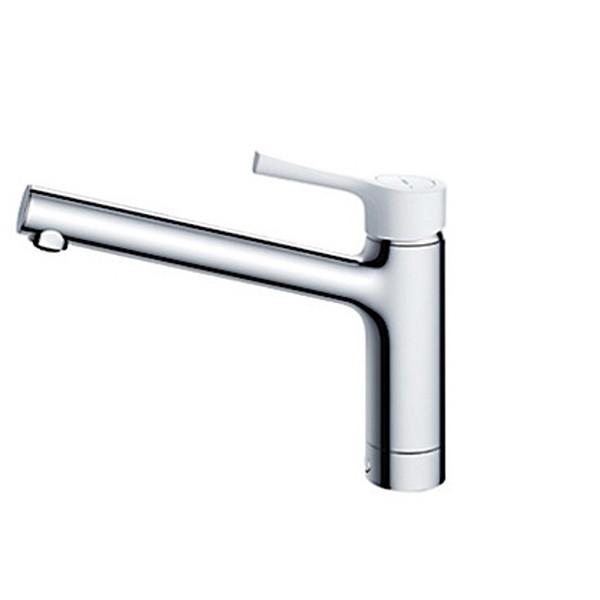 TOTO TKS05302J GGシリーズ (台所用水栓) [シングル混合水栓 (ノーマルタイプ・台付き1穴・樹脂ハンドル・寒冷地共用)]