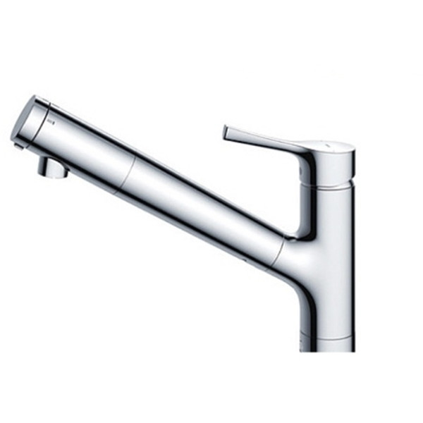 TOTO TKS05307J GGシリーズ (台所用水栓) [シングル混合水栓 (浄水器兼用吐水切り替えタイプ・台付き1穴)]