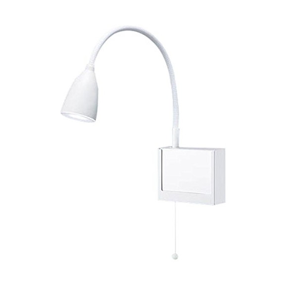 PANASONIC NNF23107JLE1 [LEDショートアーム式ベッドライト(昼白色・プルスイッチ付)]