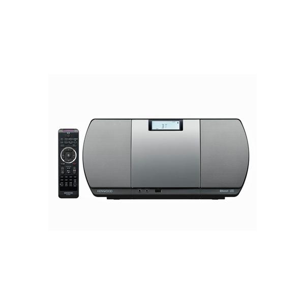 KENWOOD CR-D3-S シルバー [パーソナルオーディオシステム (Bluetooth・USB・ワイドFM対応)]