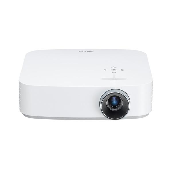 【送料無料】LGエレクトロニクス PF50KS ホワイト CineBeam(シネビーム)[フルHDポータブルプロジェクター (600ルーメン)]