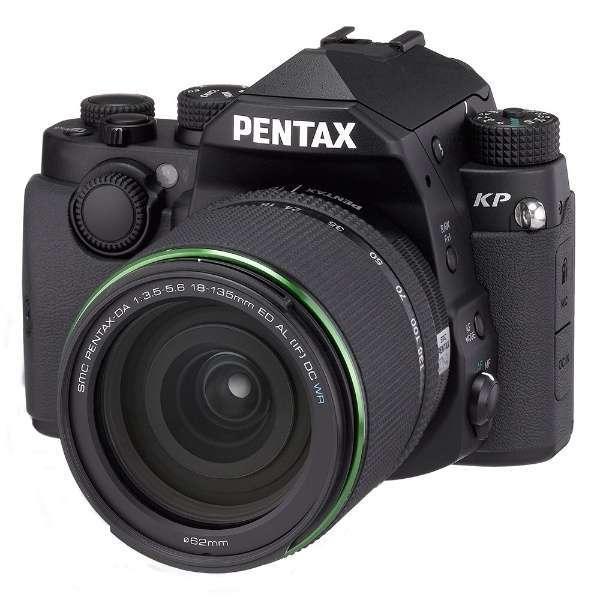 PENTAX KP 18-135WRキット ブラック [デジタル一眼レフカメラ (2432万画素)]