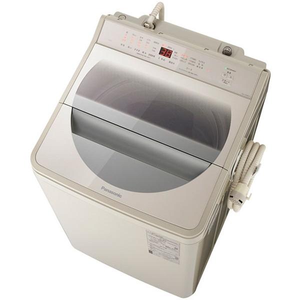 「ビッグサークル投入口」で衣類の取り出しがさらにラクに。 PANASONIC NA-FA90H7-C ストーンベージュ [全自動洗濯機(9.0kg)]