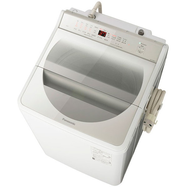 【送料無料】PANASONIC NA-FA80H7-N シャンパン [全自動洗濯機(8.0kg)]