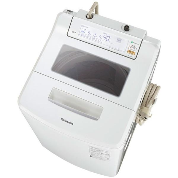 【送料無料】PANASONIC NA-JFA806 クリスタルホワイト Jコンセプト [全自動洗濯機(8.0kg)]