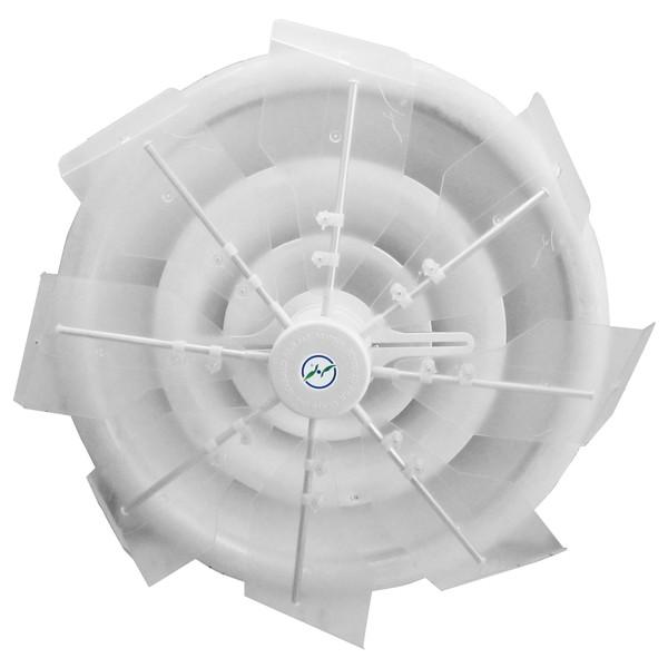潮 ハイブリッドファン HBF-TJR C/W ハーフクリアー 直撃風拡散 空調効果向上 省エネ エコ空間 CO2削減
