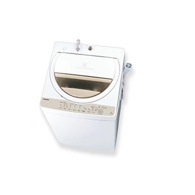 【送料無料】東芝 AW-6G8 グランホワイト [簡易乾燥機能付洗濯機(6.0kg)]
