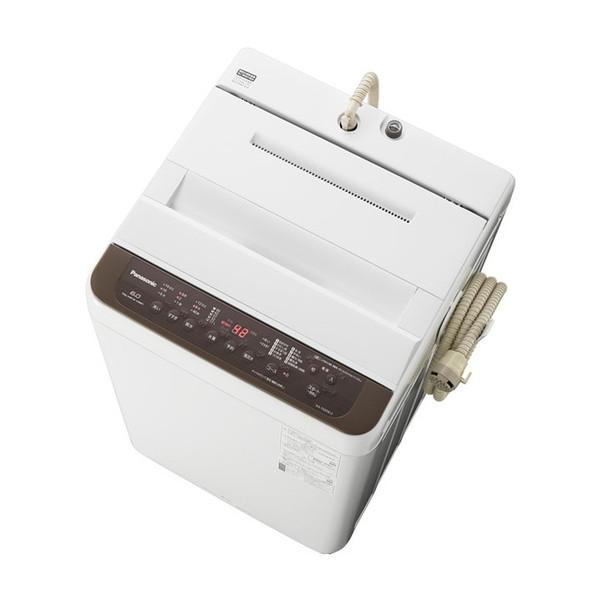 PANASONIC NA-F60PB13 ブラウン [簡易乾燥機能付き洗濯乾燥機 (6.0kg)]