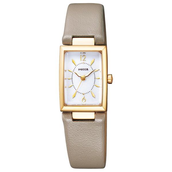 CITIZEN(シチズン) KF7-520-10 ウィッカ スクエアソーラー [ソーラーテック腕時計(レディース)]