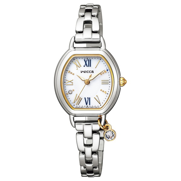 CITIZEN(シチズン) KP2-515-13 ウィッカ ときめくダイヤ [ソーラーテック腕時計(レディース)]
