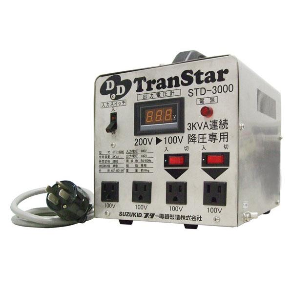 スズキッド STD-3000 [DDトランスター 変圧器(トランス)]