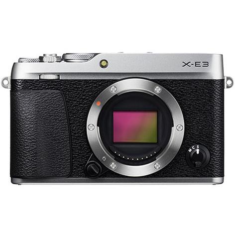 【送料無料】富士フィルム X-E3-S ボディ シルバー [デジタルミラーレス一眼カメラ(2430万画素)]