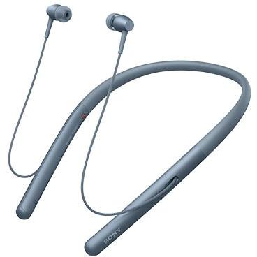 【送料無料】 SONY (ソニー) WI-H700 L ムーンリットブルー 青 h.ear in 2 Wireless [ダイナミック密閉型カナルイヤホン(Bluetooth対応・ハイレゾ対応)] ネックバンドスタイル スマホ対応 ハンズフリー