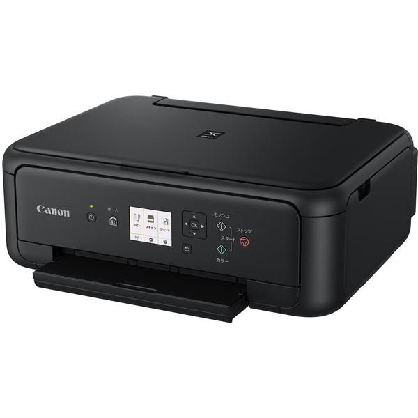 【送料無料】CANON PIXUS TS5130BK ブラック PIXUS(ピクサス) TSシリーズ [A4インクジェットプリンター (コピー/スキャナ・USB2.0/無線LAN)]
