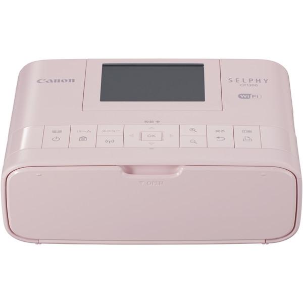 【送料無料】CANON キヤノン CP1300(PK) ピンク SELPHY(セルフィー) [コンパクトフォトプリンター]