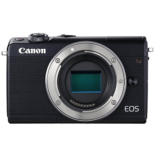 【送料無料】CANON EOS M100 B BODY ブラック [ミラーレス一眼カメラ (2420万画素)]