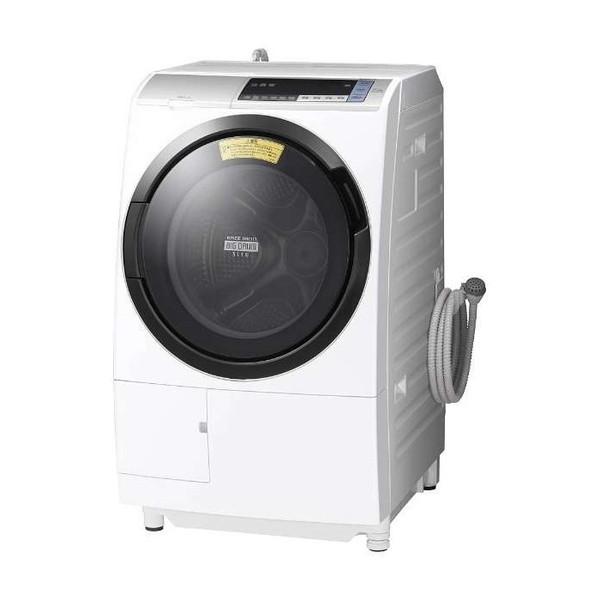 【送料無料】日立 BD-SV110BL(S) シルバー ヒートリサイクル 風アイロン ビッグドラム [ドラム式洗濯乾燥機 (洗濯11.0kg/乾燥6.0kg・左開き)]