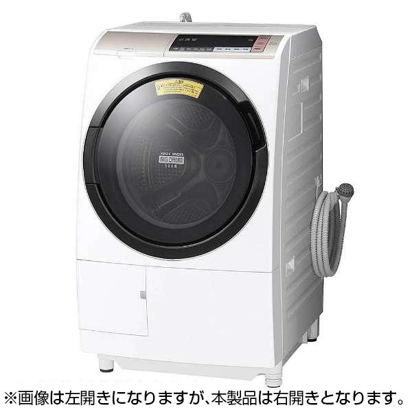 【送料無料】日立 BD-SV110BR(N) シャンパン ヒートリサイクル 風アイロン ビッグドラム [ドラム式洗濯乾燥機 (洗濯11.0kg/乾燥6.0kg・右開き)]