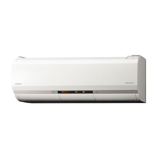 日立RAS-XK25H(W)スターホワイトメガ暖白くまくんXKシリーズ(寒冷地向け)[エアコン(主に8畳用)]