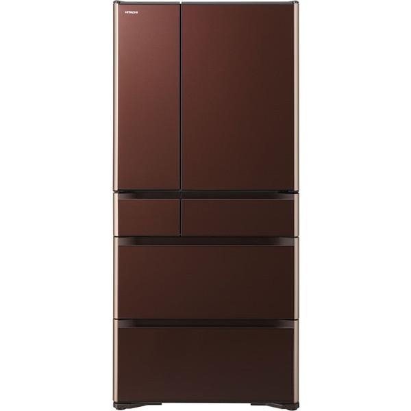 【送料無料】日立 R-XG6700H(XT) クリスタルブラウン 真空チルド XGシリーズ [冷蔵庫(670L・フレンチドア)]