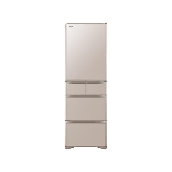 【送料無料】日立 R-S4000H(XN) クリスタルシャンパン 真空チルド [冷凍冷蔵庫 右開き 401L]