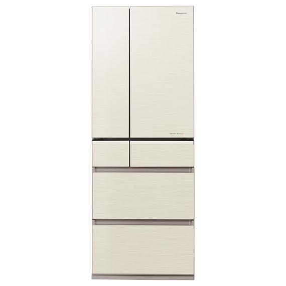 【送料無料】PANASONIC NR-F503XPV-N シャンパンゴールド エコナビ [冷蔵庫 (501L・6ドア・フレンチドア)]
