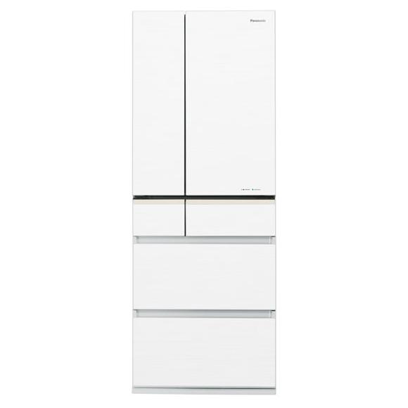 【送料無料】PANASONIC NR-F503XPV-W スノーホワイト エコナビ [冷蔵庫 (501L・6ドア・フレンチドア)] NRF503XPVW