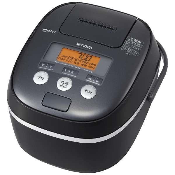 【送料無料】TIGER JPE-A180-K ブラック 炊きたて [IH炊飯器(1升)] JPEA180K