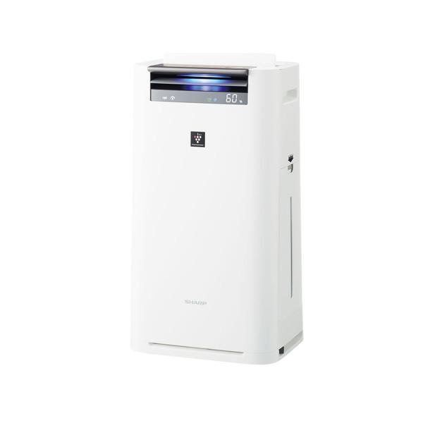 【送料無料】SHARP KI-HS50-W ホワイト系 [空気清浄機 (空気清浄~23畳/加湿~15畳)]