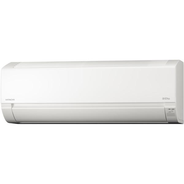 エアコン 日立 6畳用 RAS-F22H スターホワイト 白くまくん 内部クリーン 冷暖房 除湿 リモコン付 タイマー リビング 子供部屋 一人暮らし 省エネ 室内機 室外機 RAS-AJ22Jと同スペック