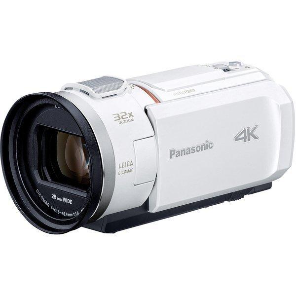 PANASONIC HC-VX2M-W ピュアホワイト [デジタル4Kビデオカメラ (64GB内蔵メモリー)]