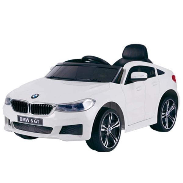 SIS JJ2164-WH ホワイト [電動乗用カー BMW 6 GT グランツーリスモ 正規ライセンス]