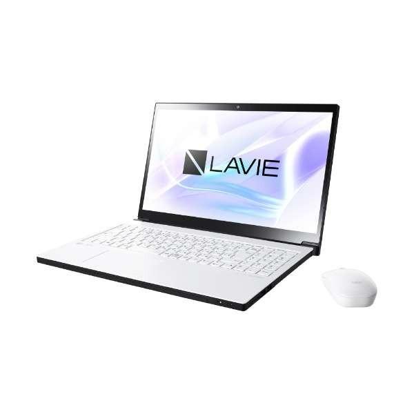 NEC PC-NX850NAW プラチナホワイト LAVIE Note NEXT NX850/NAW [ノートパソコン 15.6型 / Win10 Home /ブルーレイディスクドライブ]