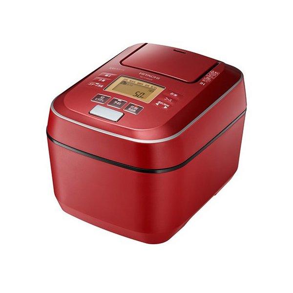 0.5合 1合 2合 5合炊きも 高級モデル RZV100CM 極上ひと粒炊き を採用したIHジャー炊飯器 炊飯器 5.5合炊き 日立 HITACHI ふっくら御膳 圧力スチームIHジャー 一人暮らし ファクトリーアウトレット 正規販売店 日本製 玄米 キッチン家電 RZ-V100CM-R 少量炊きも 蒸気カット 1人分 全周断熱構造 単身 赤 メタリックレッド 炊飯ジャー
