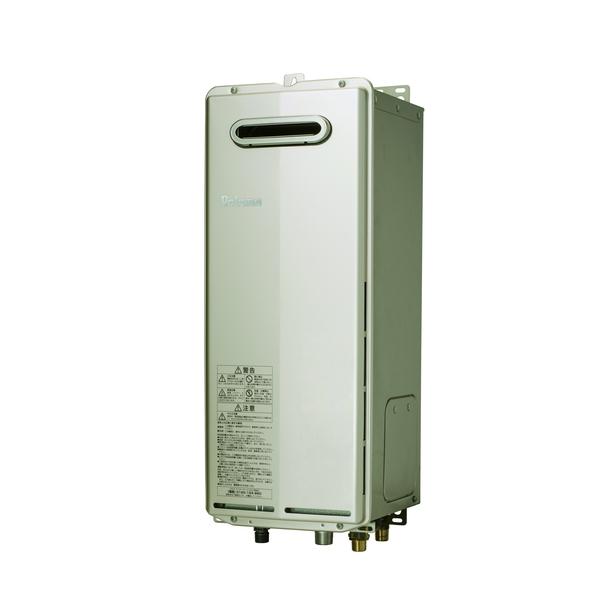 パロマ FH-S1610AWL 13A T-ino SLIM(ティーノスリム) [ガス給湯器 (都市ガス用) 16号 屋外壁掛・PS標準設置型(BL認定品) オートタイプ]