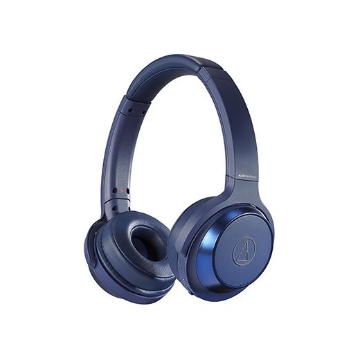 Audio-Technica ATH-WS330BT BL ブルー SOLID BASS [ワイヤレスヘッドホン]