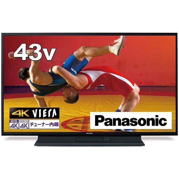 PANASONIC TH-43GR770 VIERA [43V型 地上・BS・CSデジタル 4Kチューナー内蔵 LED液晶テレビ]