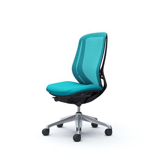 オフィスチェア デスクチェア オカムラ シルフィー 肘なし 背メッシュ ハイ C635BRFMR6 ブルーグリーン ワークチェア パソコンチェア 事務椅子 イス おしゃれ 在宅ワーク テレワーク 在宅勤務 リモートワーク