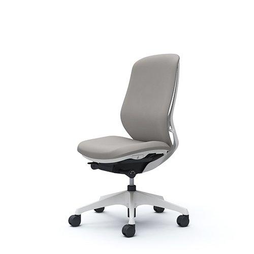 オフィスチェア デスクチェア オカムラ シルフィー 肘なし 背クッション ハイ C637XWFSG3 ライトグレー ワークチェア パソコンチェア 事務椅子 イス おしゃれ 在宅ワーク テレワーク 在宅勤務 リモートワーク