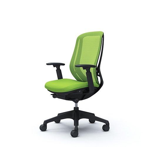 オフィスチェア デスクチェア オカムラ シルフィー 可動肘 背メッシュ ハイ C685XRFMP5 ライムグリーン ワークチェア パソコンチェア 事務椅子 イス おしゃれ 在宅ワーク テレワーク 在宅勤務 リモートワーク