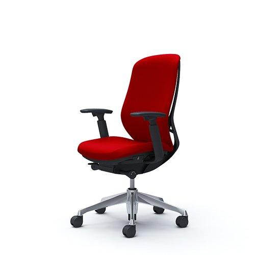 オフィスチェア デスクチェア オカムラ シルフィー 可動肘 背クッション ハイ C687BRFSF9 レッド ワークチェア パソコンチェア 事務椅子 イス おしゃれ 在宅ワーク テレワーク 在宅勤務 リモートワーク