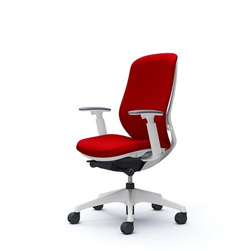 オフィスチェア デスクチェア オカムラ シルフィー 可動肘 背クッション ハイ C687XWFSF9 レッド ワークチェア パソコンチェア 事務椅子 イス おしゃれ 在宅ワーク テレワーク 在宅勤務 リモートワーク