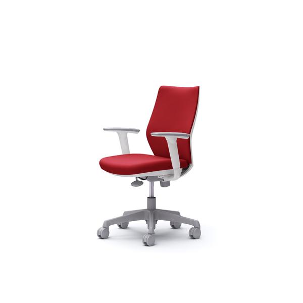 オフィスチェア デスクチェア オカムラ CG-M 可動肘 背パッド ハンガー無 CG97WRFM38 ビンテージレッド ワークチェア パソコンチェア 事務椅子 イス おしゃれ 在宅ワーク テレワーク 在宅勤務 リモートワーク
