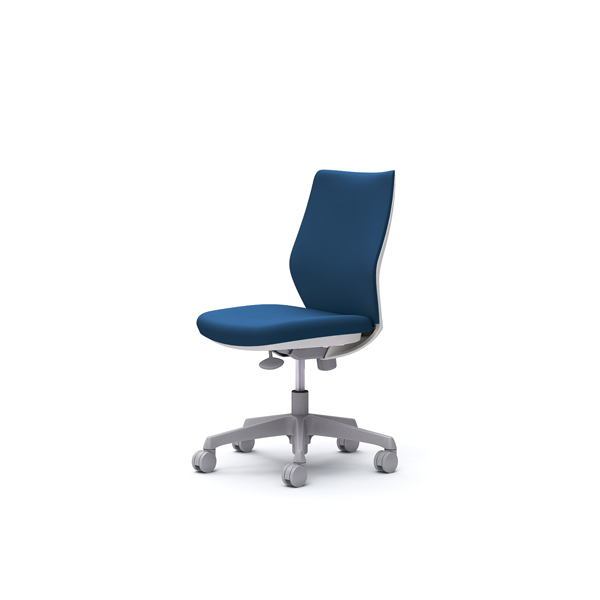 オフィスチェア デスクチェア オカムラ CG-M 肘無 背パッド ハンガー無 CG17WRFZH3 ミディアムブルー ワークチェア パソコンチェア 事務椅子 イス おしゃれ 在宅ワーク テレワーク 在宅勤務 リモートワーク